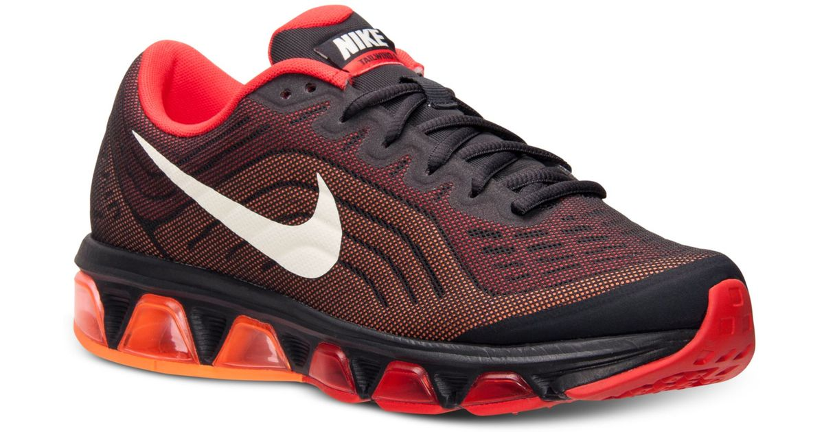 buy popular 2a8fa d4287 Nike Mens Air Max Tailwind 6 Running Sneakers From Finish Line in Black for  Men - Lyst