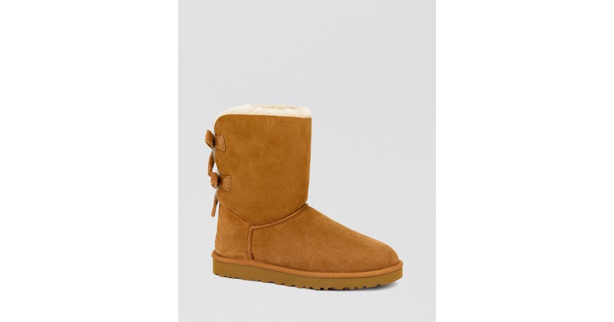 d72d71715c3 UGG Brown Boots - Bailey Bow Corduroy
