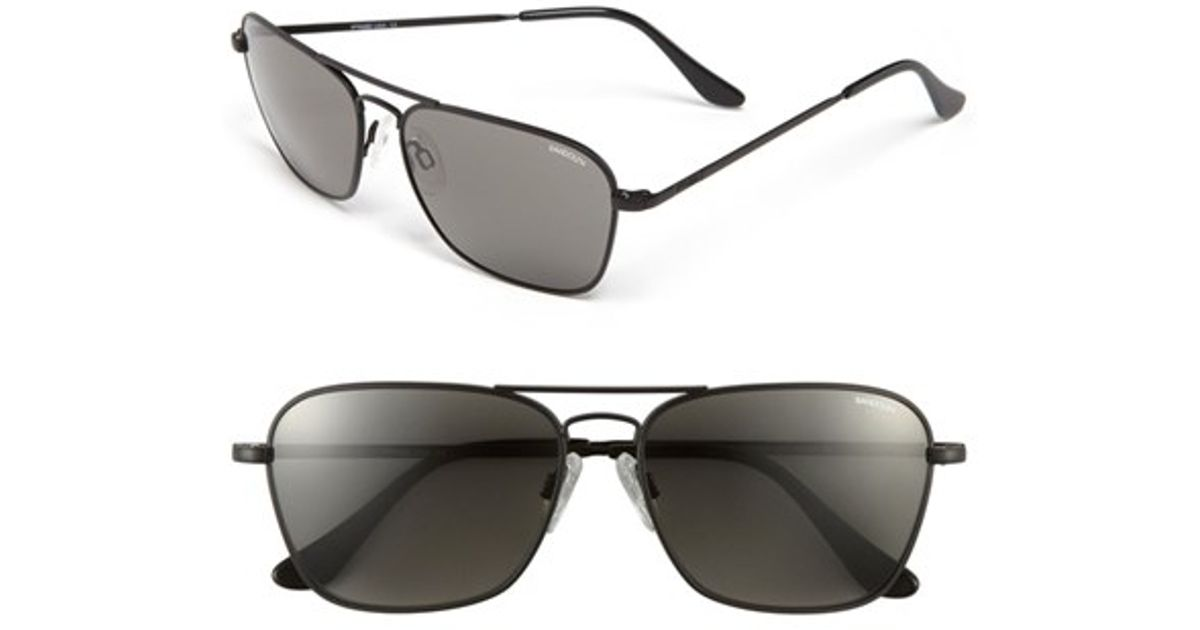 fe40e2e74ffe Randolph engineering   39 intruder  39  58mm Sunglasses in Black ...