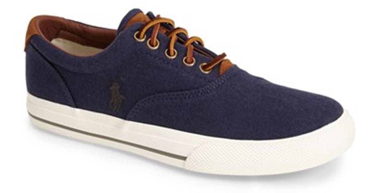 Polo Ralph Lauren Men S Vaughn Fashion Sneaker D