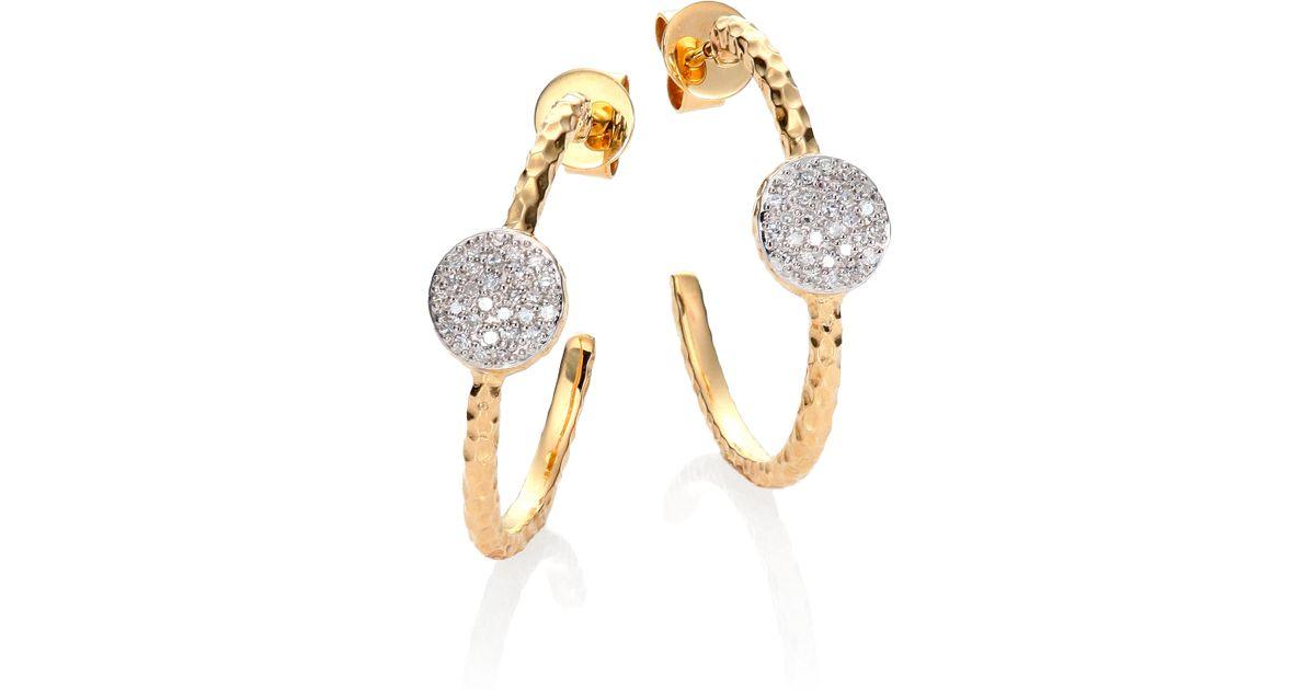 phillips house affair diamond 14k yellow gold infinity