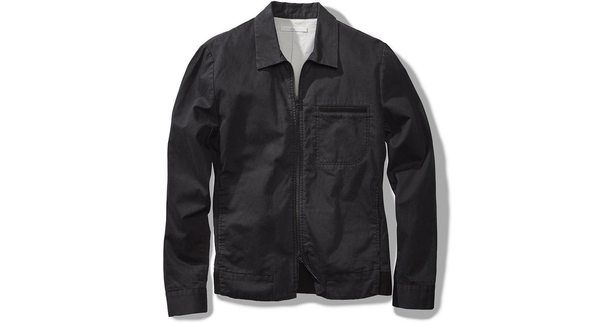 Outerknown Outbound Jacket In Black For Men Lyst