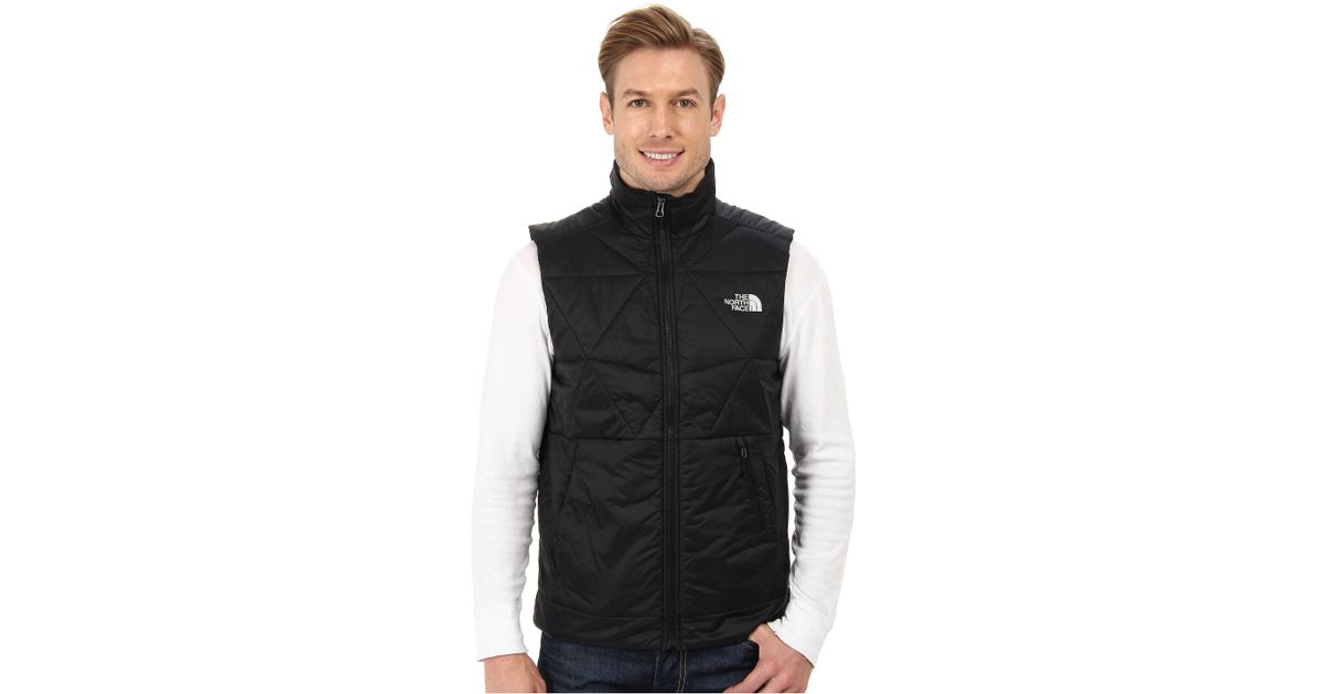 bc26a261c The North Face Black Red Slate Vest for men