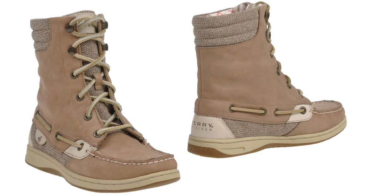 Sperry Top-Sider Leather Ankle Boots in