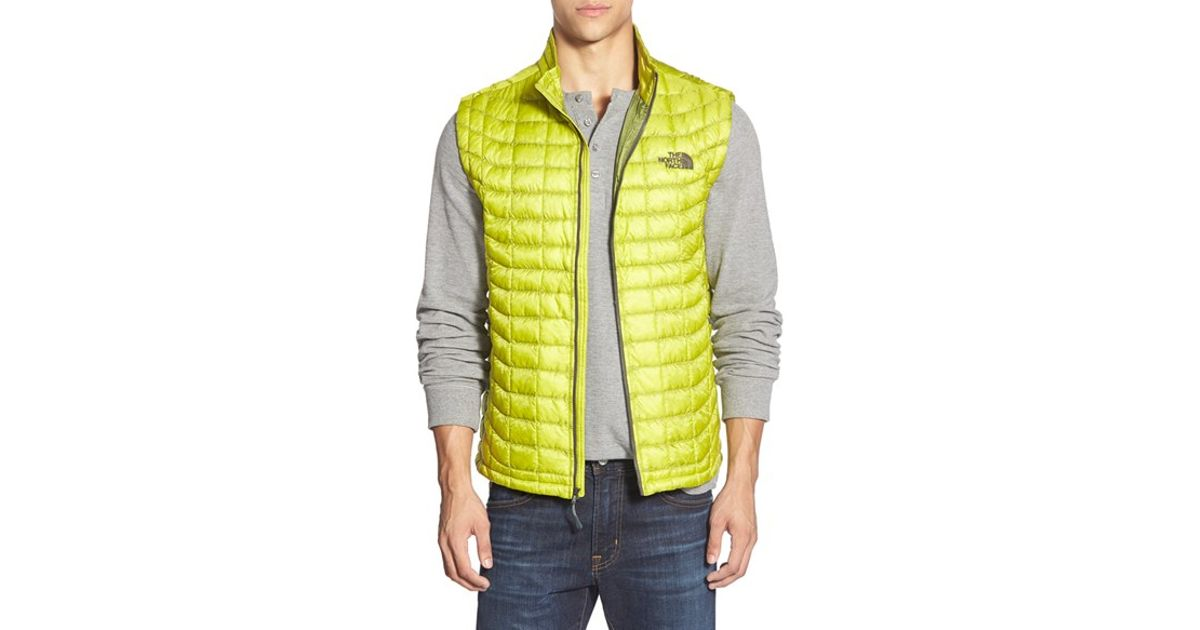dd3bda05e675 Lyst - The North Face  thermoball  Packable Primaloft Vest