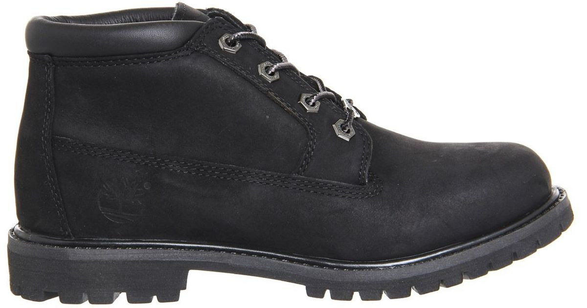 timberland nellie chukka boots in black for lyst