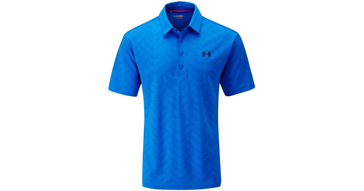 under armour armourvent plain regular fit polo shirt in