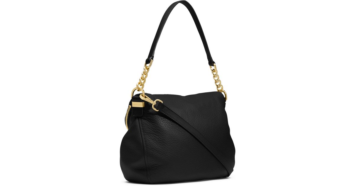 f8858a10d7bc9 ... amazon lyst michael michael kors bedford medium tassel convertible  shoulder bag in black 1e78e 4139b