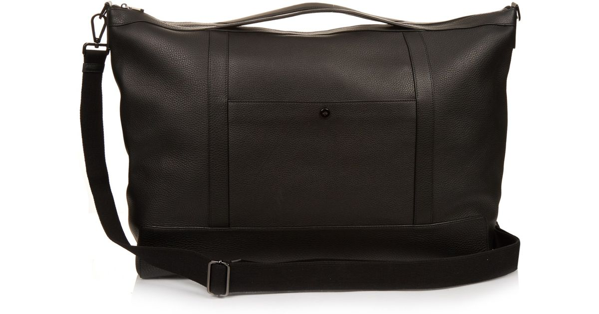 4f7de798ab8d ... closeout mulberry multi tasker large leather holdall bag in black for  men lyst 6d8a5 bb458