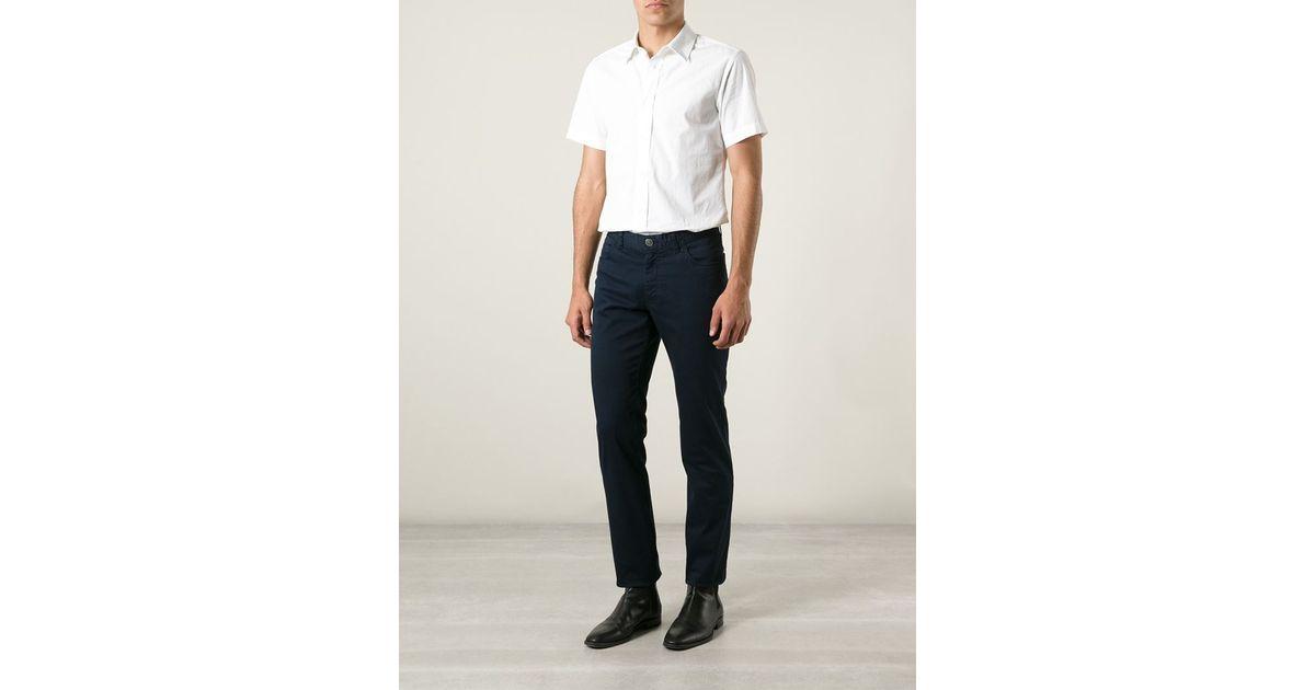 bedc9dd8 Lyst - Brioni 'meribel' Trousers in Blue for Men