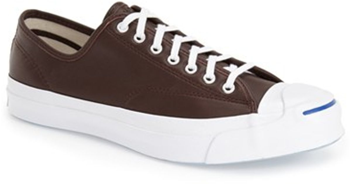... Lyst - Converse Jack Purcell Low-Top Leather Sneakers in Purple for Men  ... 1ff8a8817