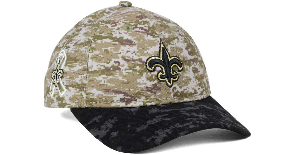 058b2ab83 ... reduced lyst ktz womens new orleans saints salute to service 9twenty  cap in green for men
