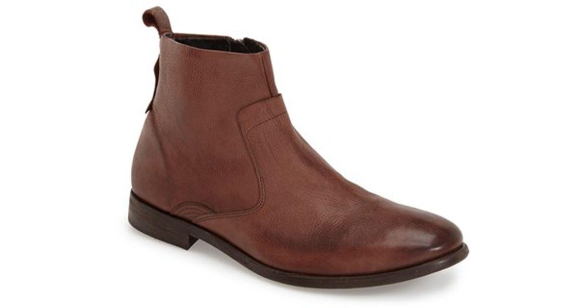 h by hudson 39 kansai 39 chelsea boot in brown for men. Black Bedroom Furniture Sets. Home Design Ideas