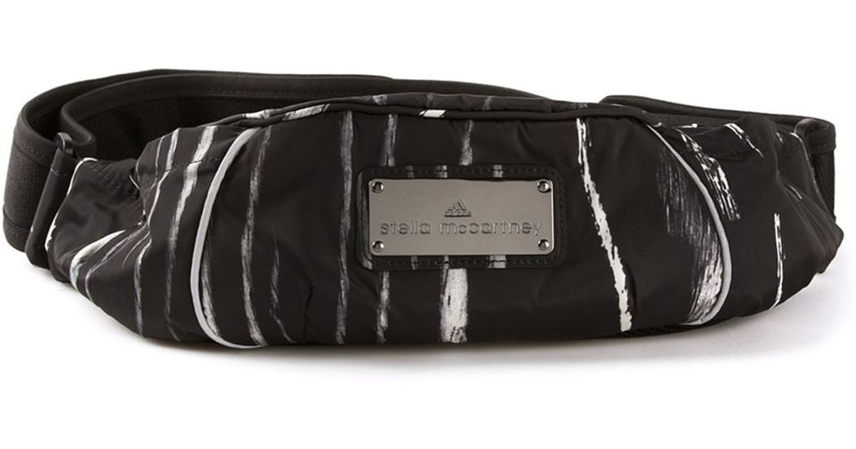 9bb3833f0bfe Lyst - adidas By Stella McCartney Bumbag Fanny Pack in Black