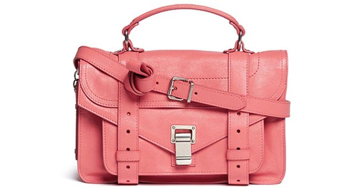 PS1+ Tiny - Pink & Purple Proenza Schouler f9SAn