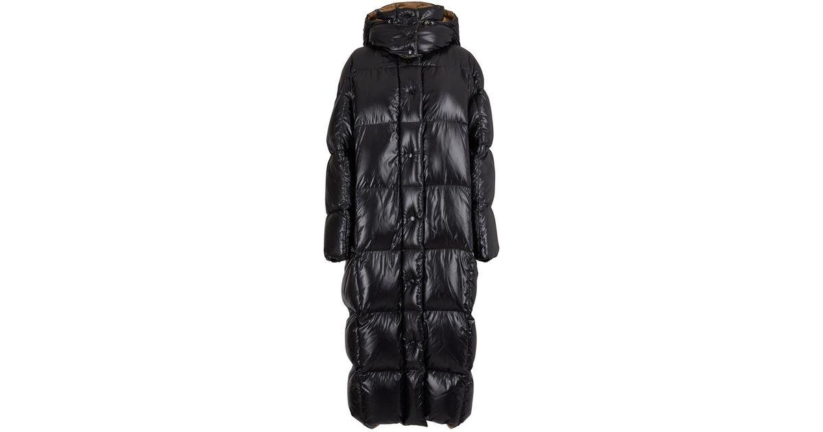 Women's Black Parnaiba Long Down Jacket | Jacken