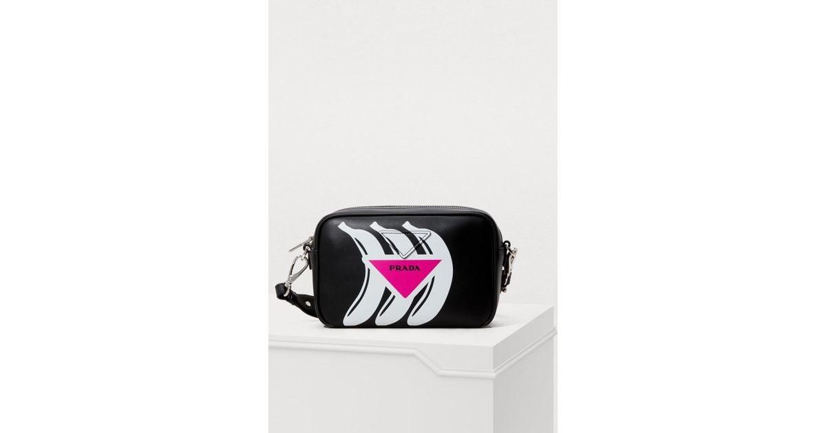 f1c56c47e8 Lyst - Prada Banana Camera Bag in Black