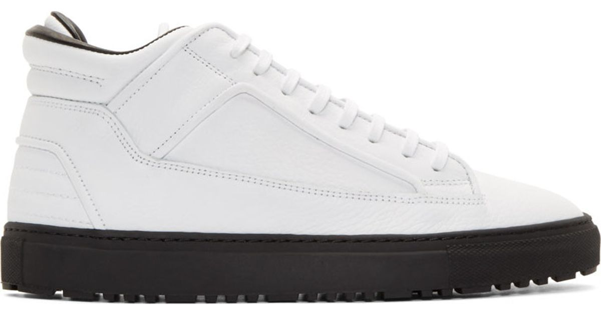 Etq. Etq. High Top Sneakers - White Top Sneakers Hautes - Blanc GKYQO
