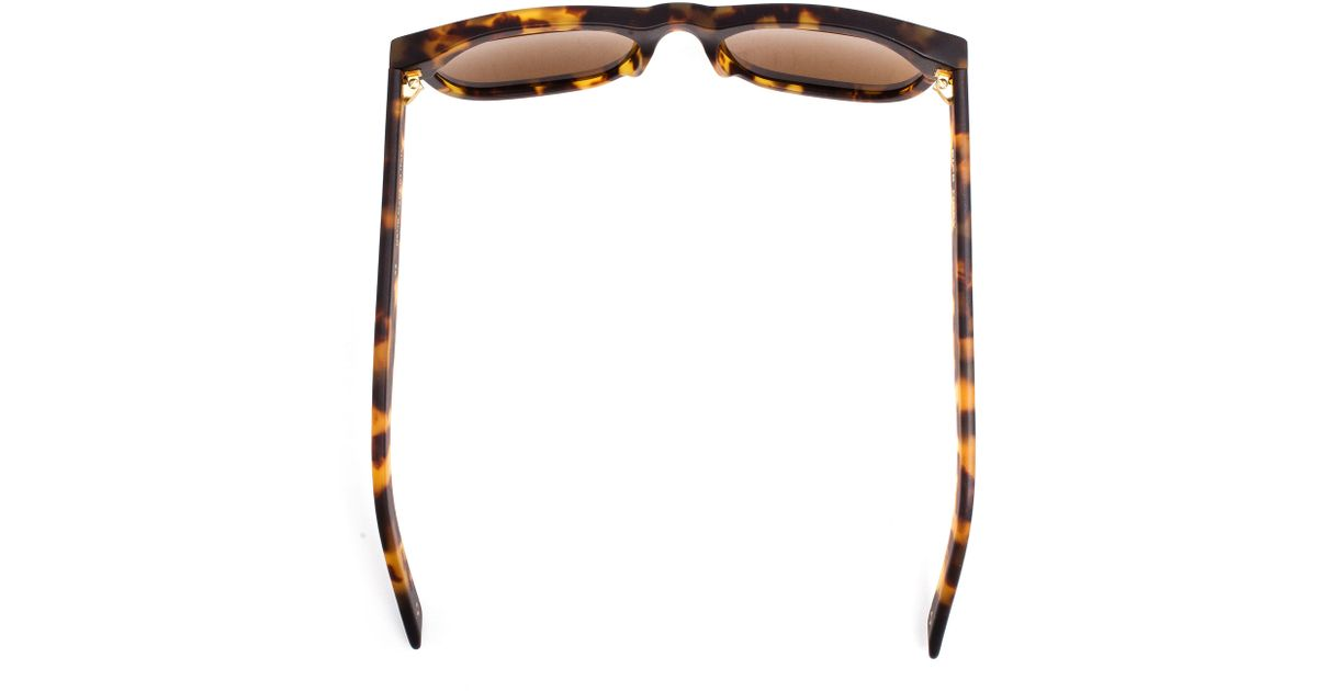 4b9cd8ff8a0 Lyst - Dick Moby Lax Matte Tortoiseshell Havana Sunglasses in Brown for Men