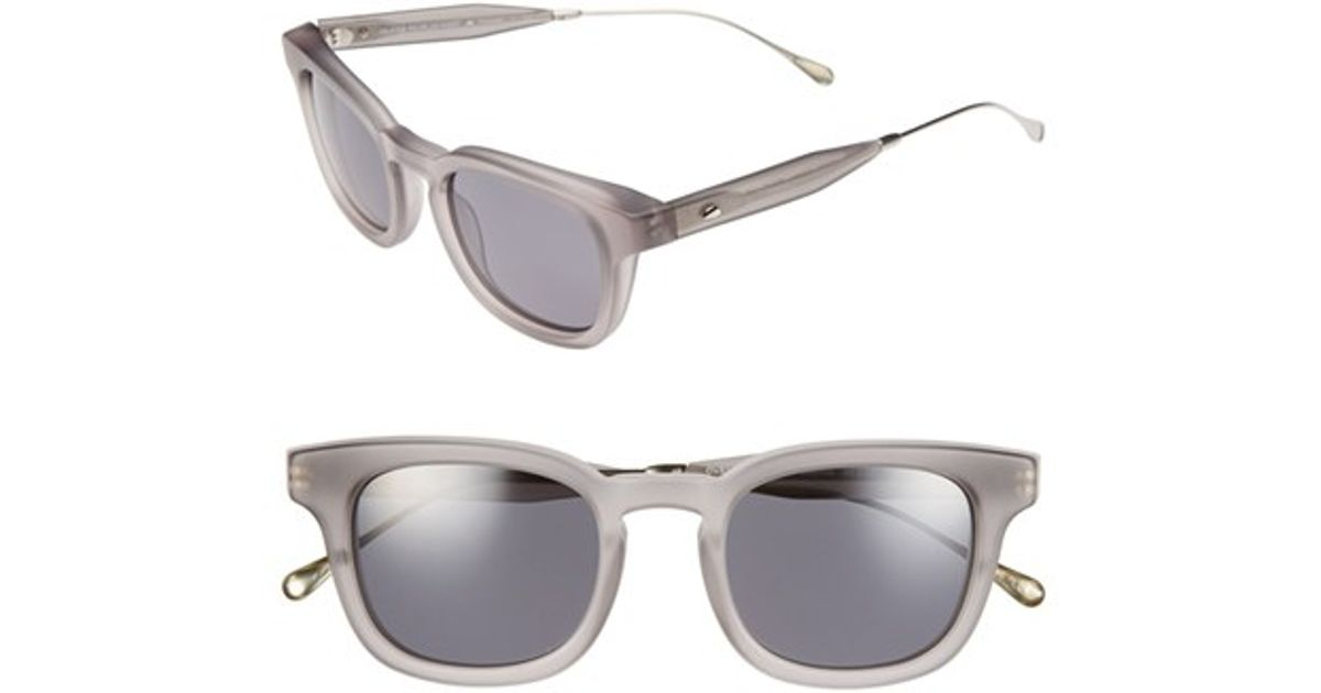 a9f2c5a9cf Lyst - Oliver Peoples  cabrillo  49mm Polarized Sunglasses in Gray for Men