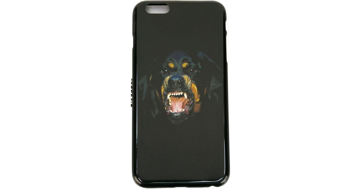 buy online 37143 75191 Givenchy Black Rottweiler Iphone 6 Plus Case for men