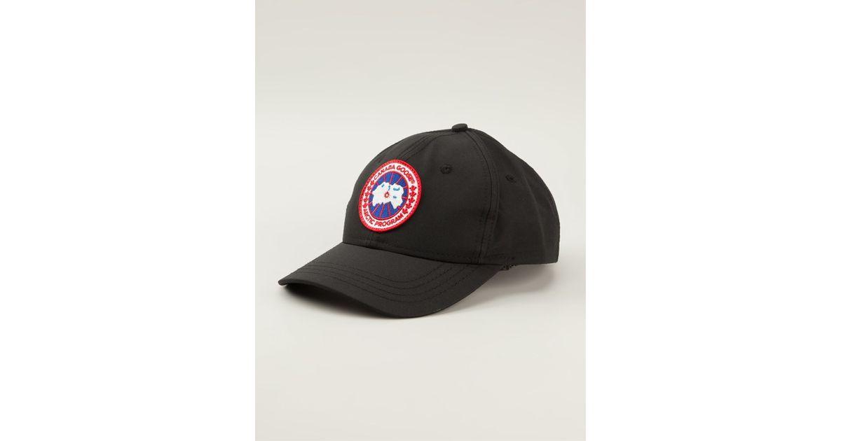 ad72568bc4c Canada Goose Black Ball Cap for men