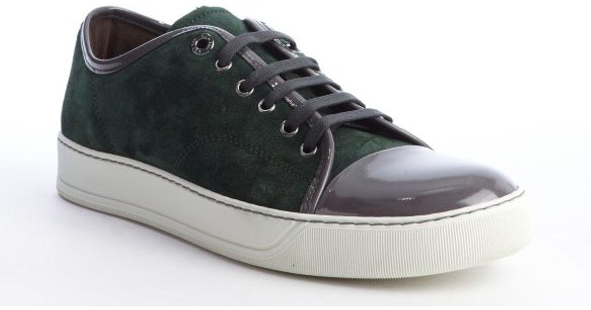 Cap-toe Matte-leather Sneakers Lanvin nDZbalkJva