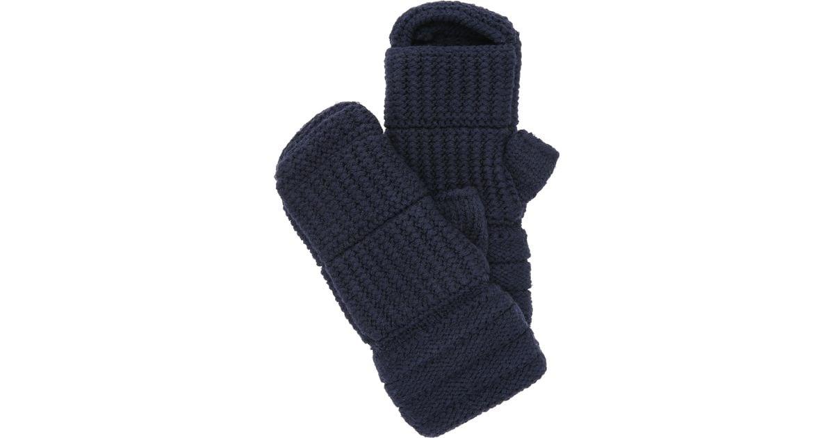 Averett Punch Hand Knit Boxing Gloves in Blue (Navy) Lyst