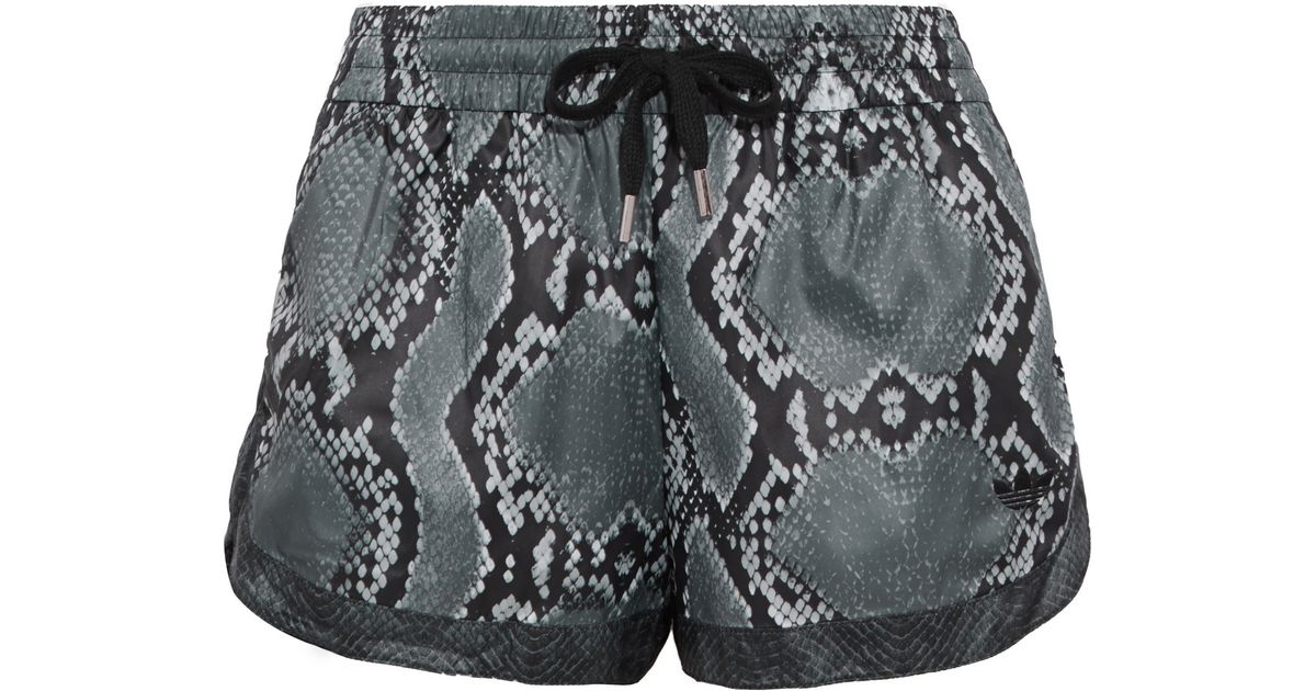 Adidas Originals Shorts Damen 3 STR SHORT DV2555 Schwarz