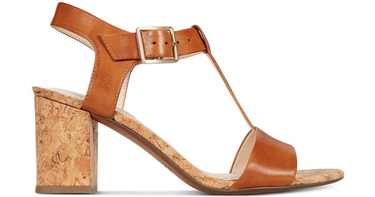 Clarks Somerset Women's Smart Deva Dress Sandals in Brown ...