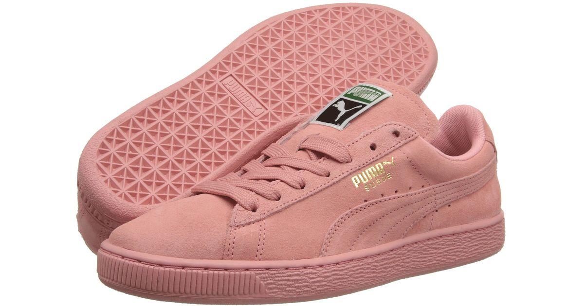 PUMA Pink Suede Classic Wns