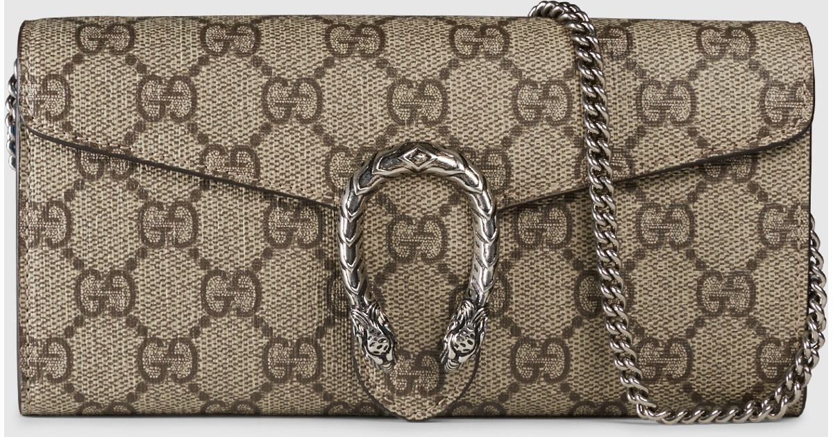 dbe89fe9cab837 Gucci Dionysus GG Supreme Chain Heart Embroidery Canvas Shoulder Medium Bag  Sequin Appliqu Fall Winter 2016 ... Gucci Blue Blooms Print Wallet on ...
