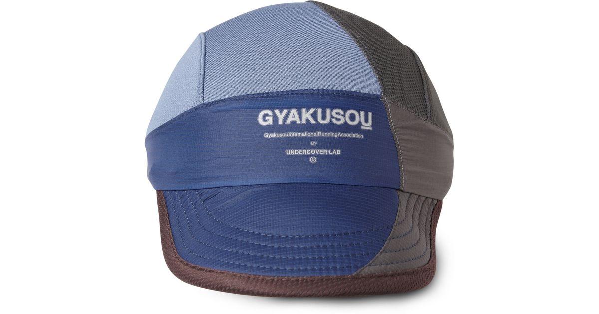 Lyst Nike Gyakusou Drifit Running Cap In Blue For Men. Nike Running Hat 970bd51a08d6