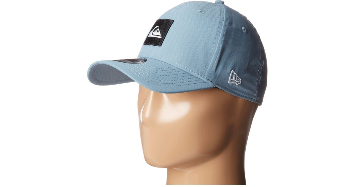 11fd5e306ad33 Lyst - Quiksilver The Amphibian Hat in Blue