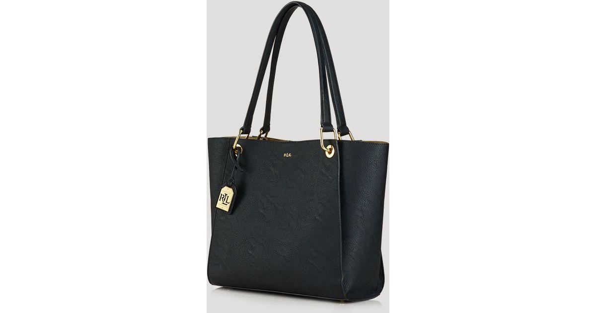 Lyst - Ralph Lauren Lauren Tote - Aiden Shopper in Black d3d7d529d7