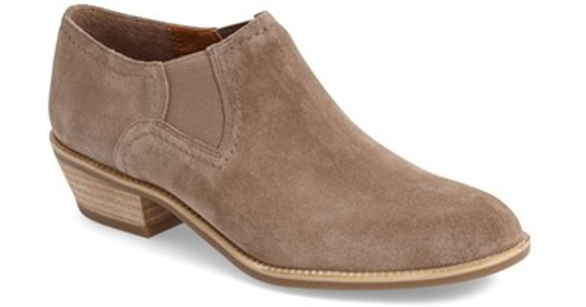 Sarto by Franco Sarto Seville Ankle Boot(Women's) -Greystone Lux Brushed Suede Free Shipping Deals adK6b