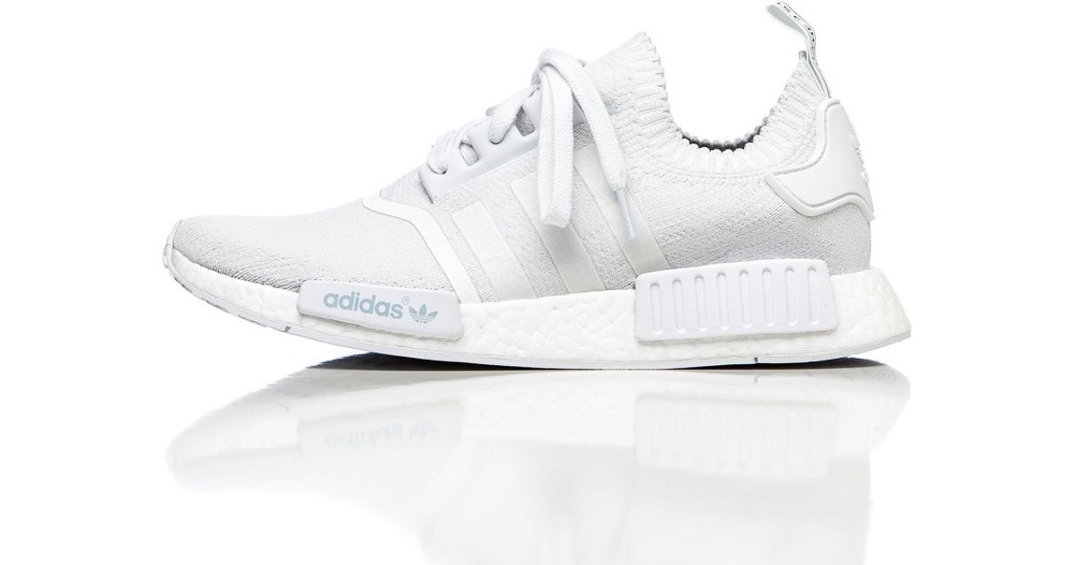 5a40b5a9e Lyst - adidas Originals Nmd R1 Primeknit In Vintage White in White for Men