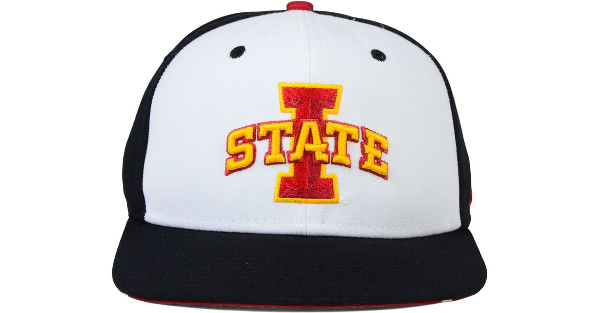 562506210af9d uk lyst nike iowa state cyclones pro verbiage snapback cap in white for men  fb477 439ca