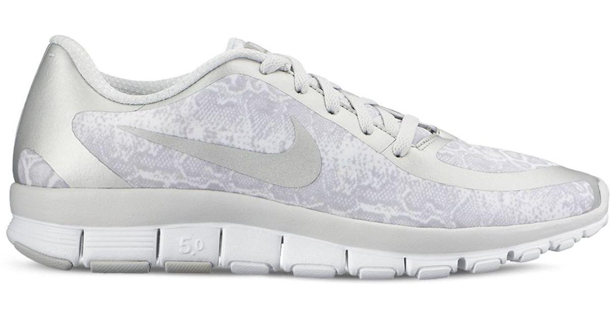 Nike Leather Women's Free 5.0 V4 Lace