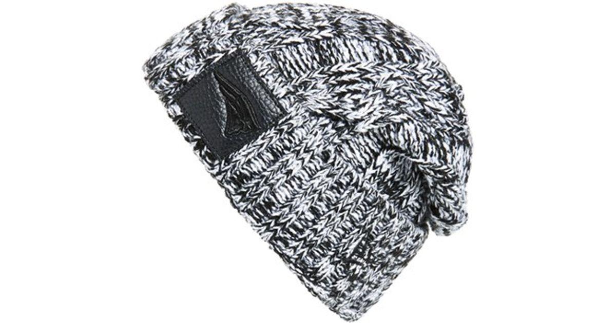 6019e73fe KTZ Black 'ohana - New England Patriots' Cable Knit Beanie for men