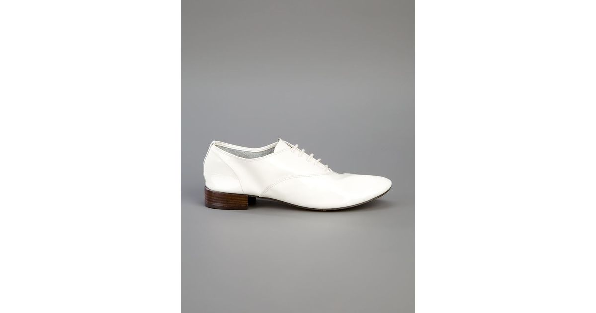 f7a6f9fe2b7a Lyst - Repetto Lace-up Shoes in White