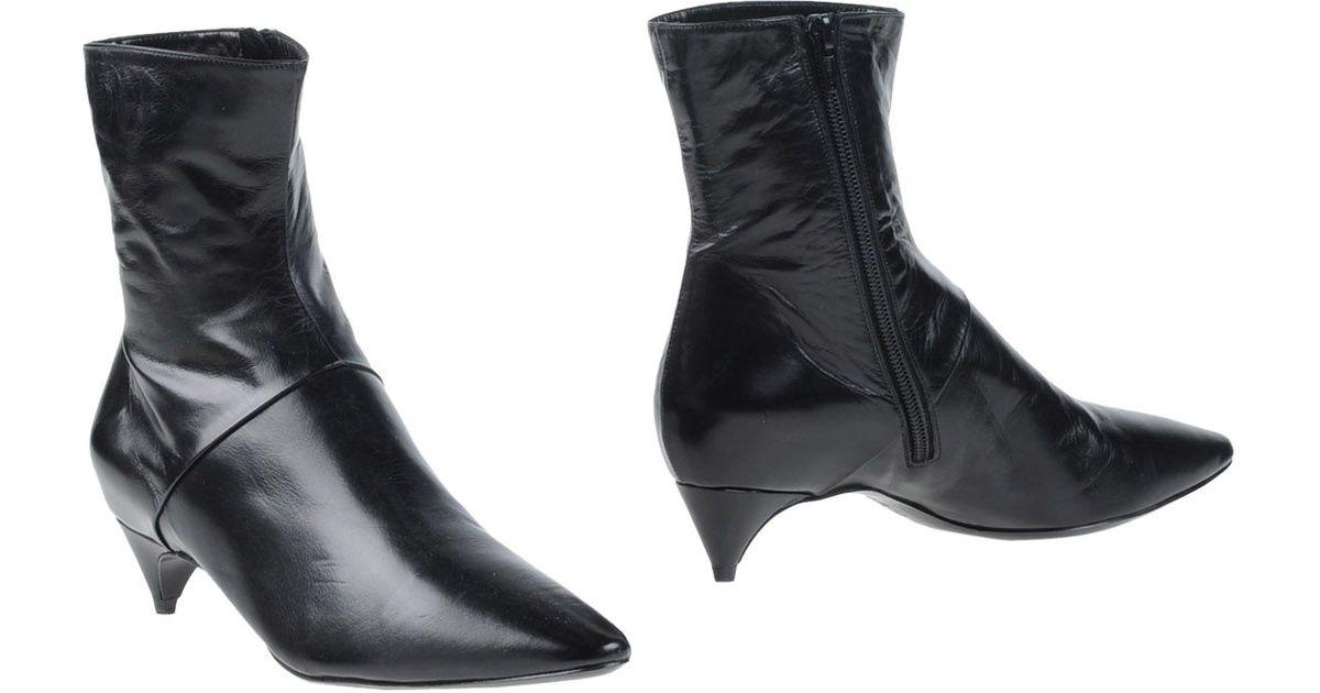 embellished ankle boots - Black Loriblu 7crDoQmQ