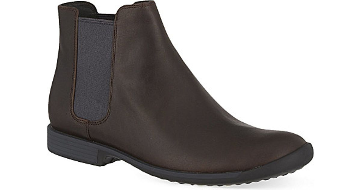 Camper Leather Bowie Chelsea Boots in