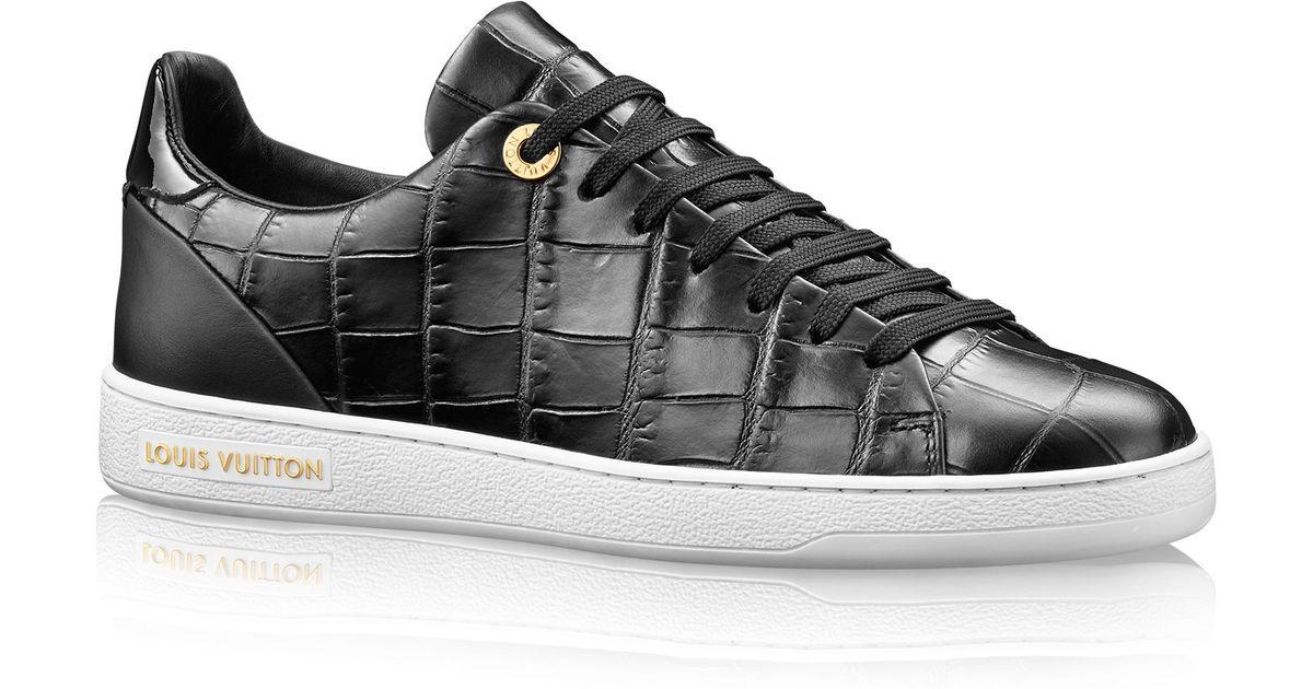 Louis Vuitton Frontrow Sneaker In Black Lyst
