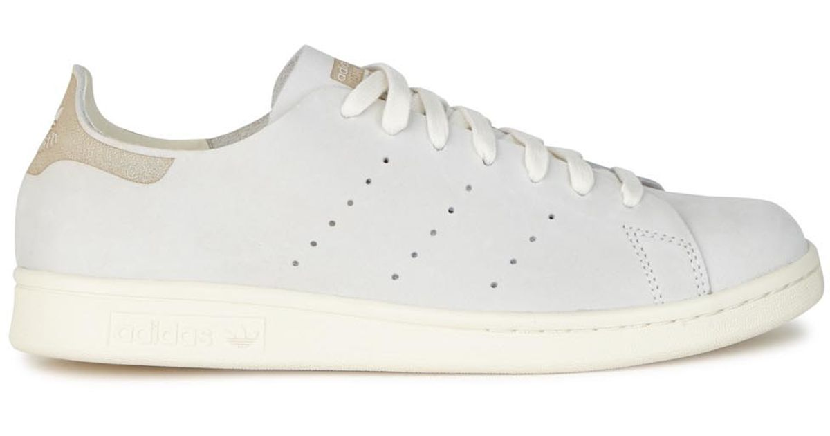 cheap for discount 302e2 0d458 Adidas Originals Gray Stan Smith Light Grey Suede Trainers
