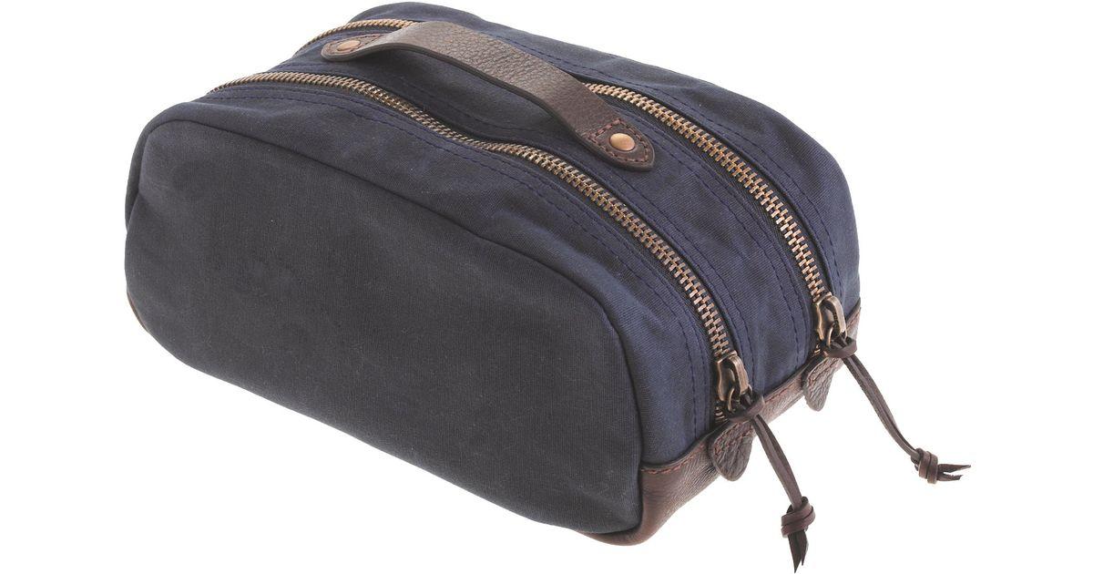 063d122c72db Lyst - J.Crew Abingdon Travel Kit in Blue for Men