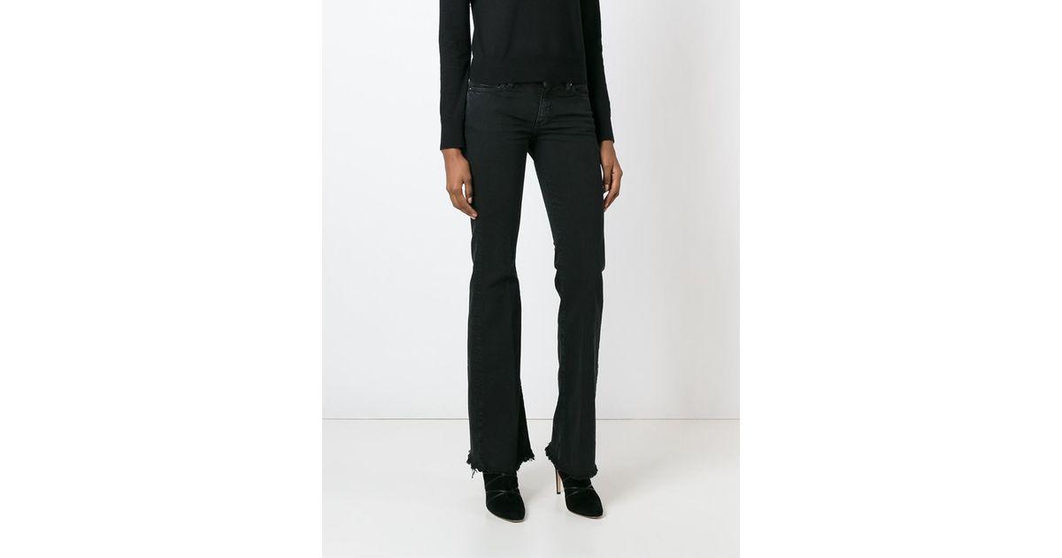 iro freddy bootcut jeans in black lyst. Black Bedroom Furniture Sets. Home Design Ideas