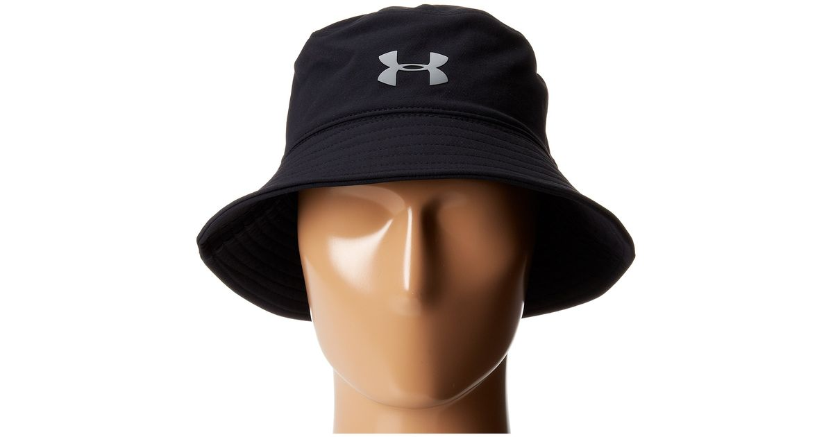 3bb2f37cd9913 Under Armour Ua Pack-it Bucket Hat in Black for Men - Lyst
