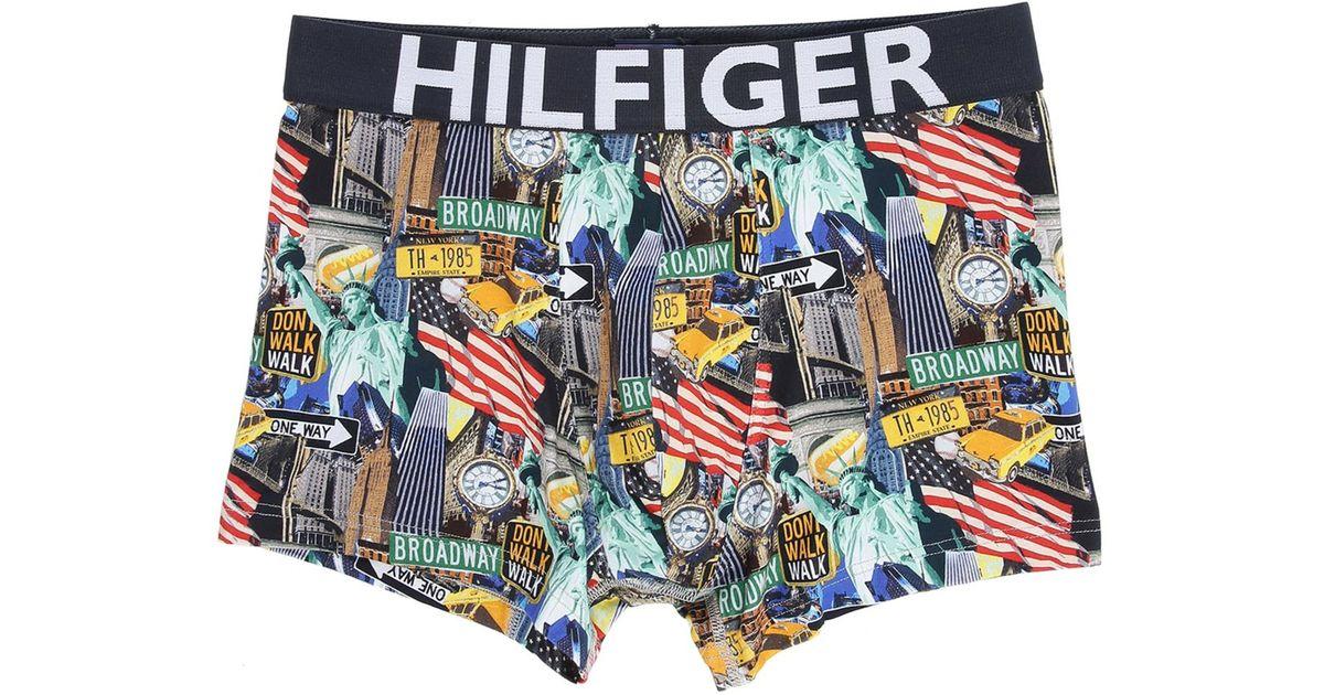 tommy hilfiger multi coloured nyc print boxer shorts for. Black Bedroom Furniture Sets. Home Design Ideas