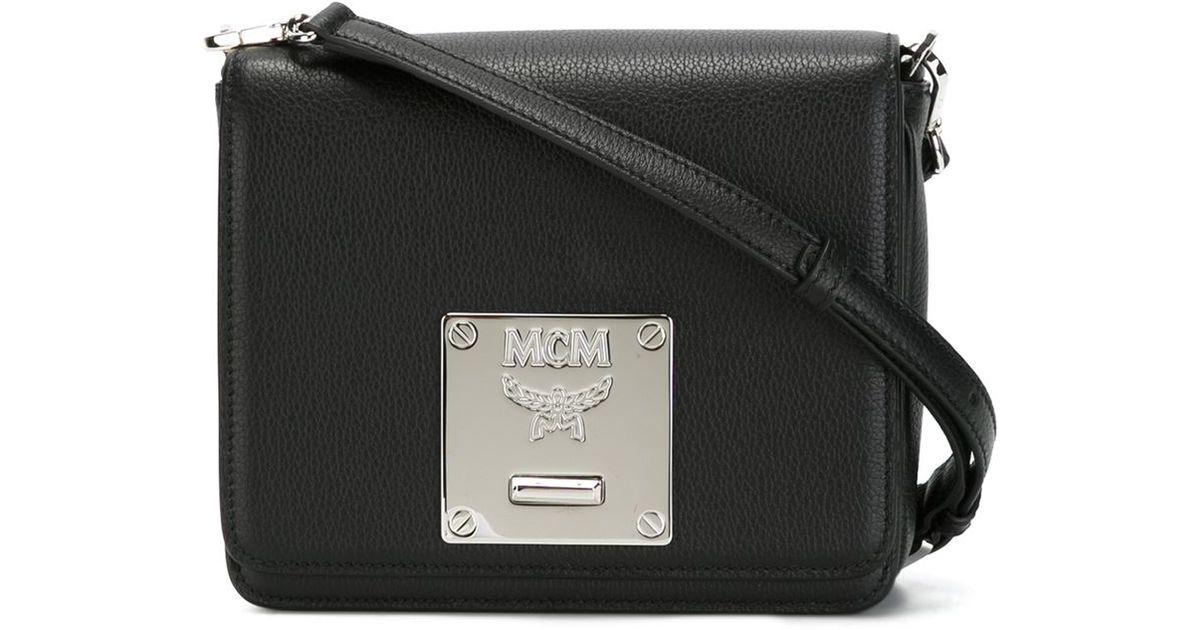 63b436dfc87b MCM 'mona' Crossbody Bag in Black - Lyst